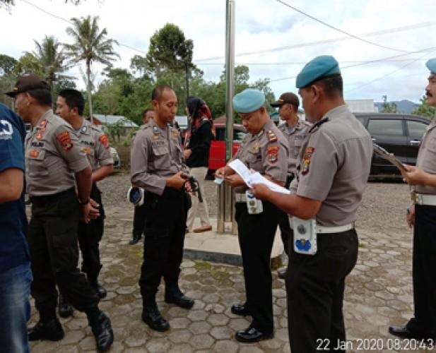 Propam Polres Lambar Razia Kelengkapan Surat Anggota Polsek