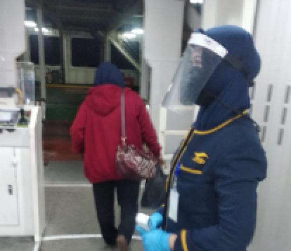 Protokol Kesehatan di Pelabuhan Bakauheni Masih Longgar
