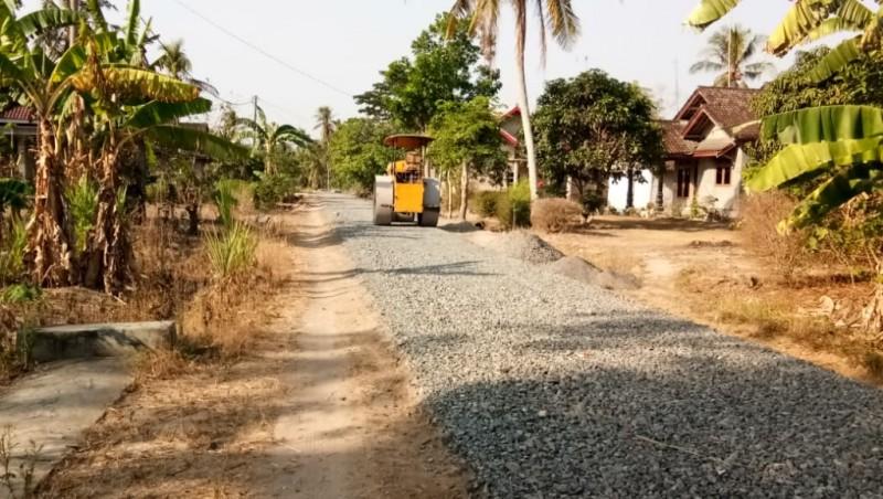 Proyek Jalan Hotmix di Bumirestu Diragukan Masyarakat