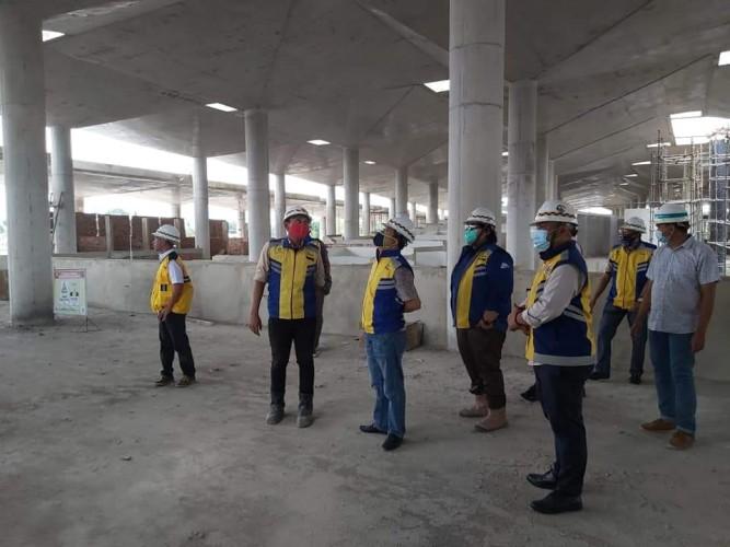 Proyek Pasar Pulungkencana Senilai Rp77 Miliar Tak Selesai Tepat Waktu