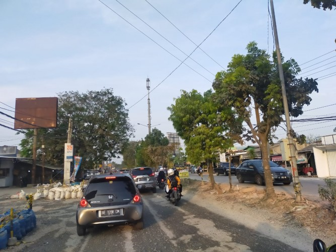Proyek Rigid Beton Jalan Ryacudu Senilai Rp18,5 M Masuk Tahap Tender