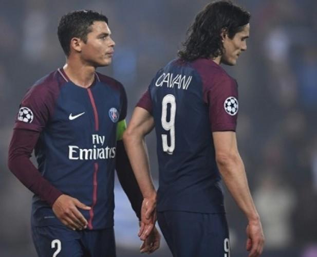 PSG Konfirmasi Lepas Thiago Silva dan Edinson Cavani
