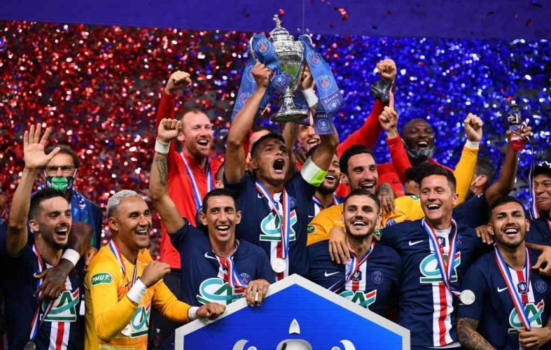 PSG Sabet Gelar Coupe de France 2019--2020