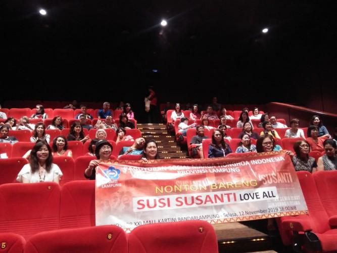 PSMTI Gelar Nonton Bareng <i>Susi Susanti Love All</i>