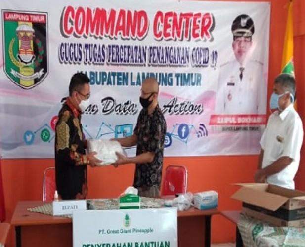 PT GGP Pasok Belasan Ribu APD untuk Tenaga Medis di Lampung Timur