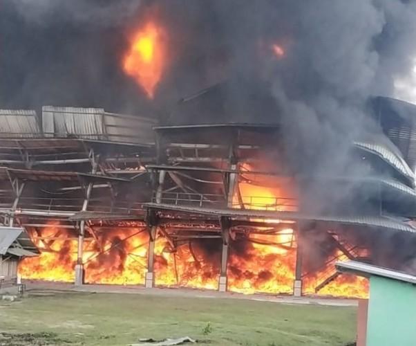 PT Mardec SigerMerugi Miliaran Rupiah Akibat Kebakaran