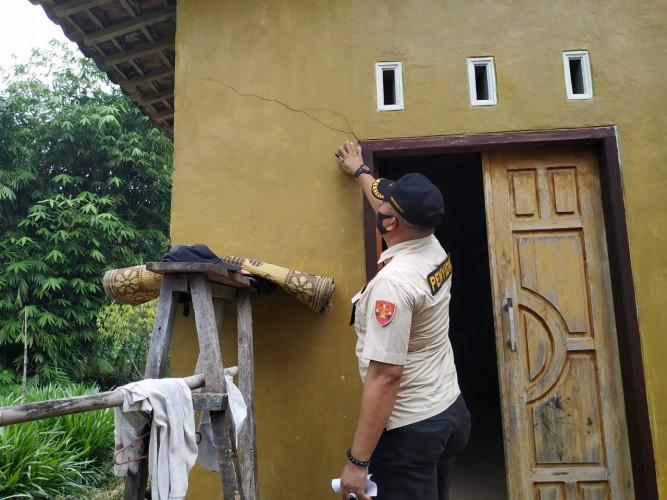 PT Optima Nusa Janji Ganti Rugi Rumah Warga yang Rusak Akibat Peledakan