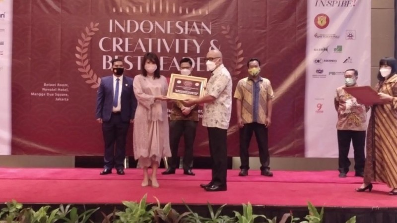 PT Pangansari Utama Raih Penghargaan Indonesian Creativity & Best Leader Award