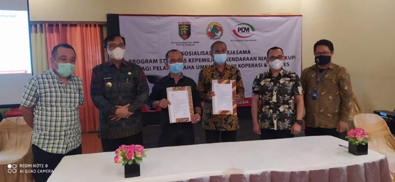 PT PDM Dukung Pemulihan Ekonomi UMKM Lampung