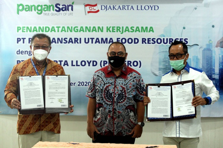 PT PUFR Teken Kerja Sama dengan PT Djakarta Lloyd