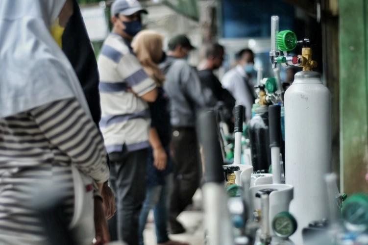 PT Pusri Suplai 29,08 Ton Oksigen di Lampung