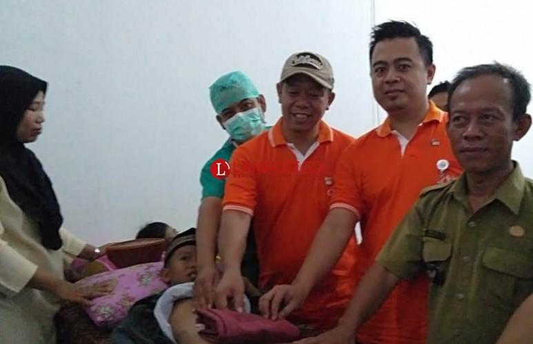 PT STP Khitan 51 Anak di Katibung