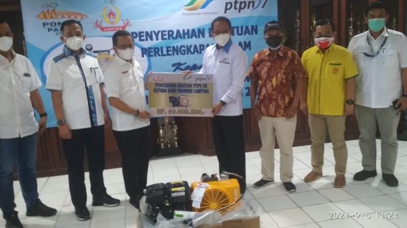 PTPN 7 Bantu Kompresor untuk Cabang Selam PON XX