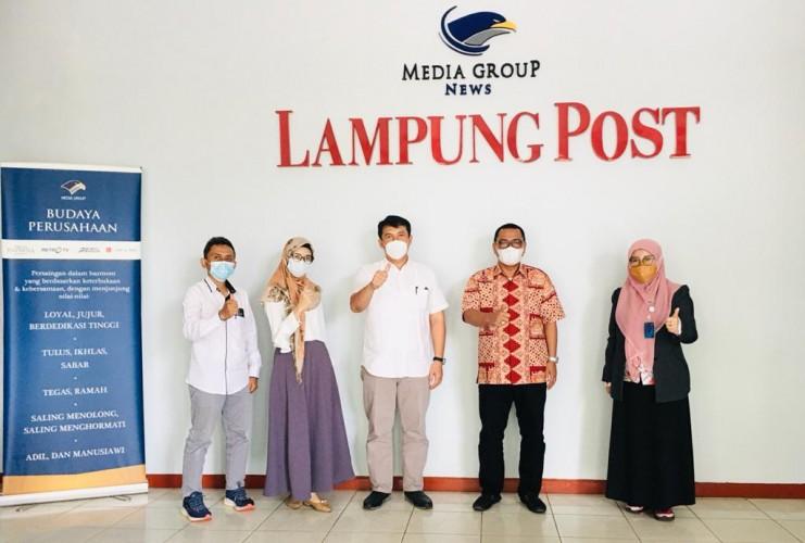PTPN VII dan Lampung Post Dukung Pemulihan Bisnis