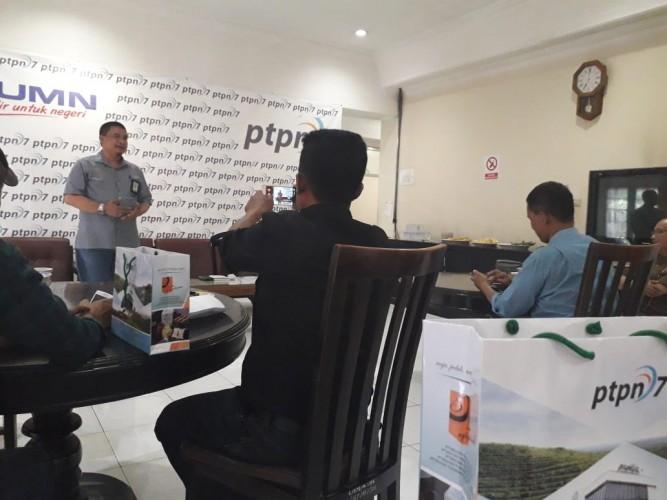 PTPN VII Salurkan Rp100 Juta untuk Lombok