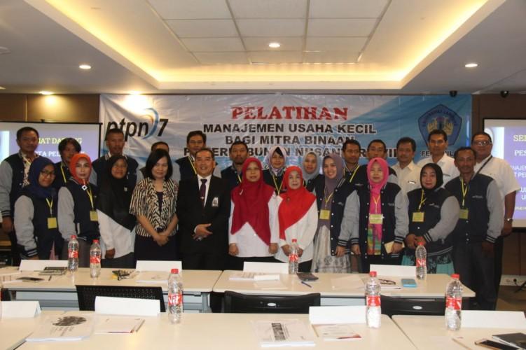 PTPN7 Beri Pelatihan Mitra Binaan