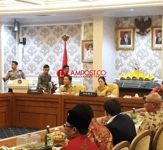 Puan Maharani Kunjungi Lampung