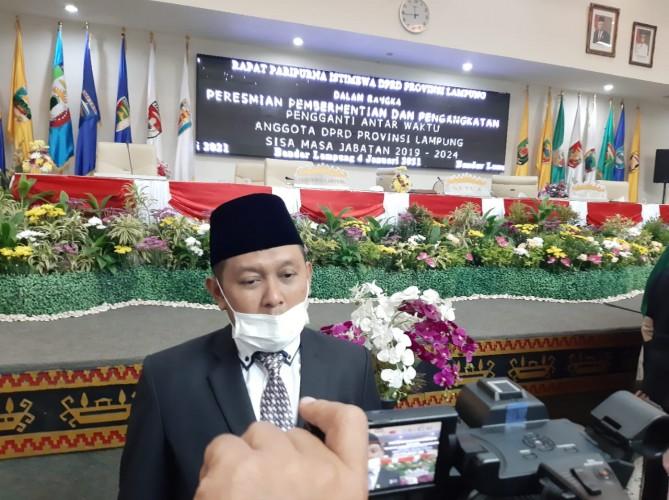 Puji Sartono Janji Wujudkan Pemekaran Kabupaten Bandar Lampung Baru