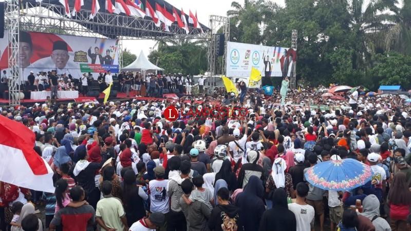 Pujo Lampura Deklarasikan Dukung Jokowi-Ma'ruf Amin