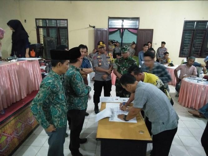 Pukul 3.00, Hasil Pleno KPU Mesuji Dikirim ke Provinsi