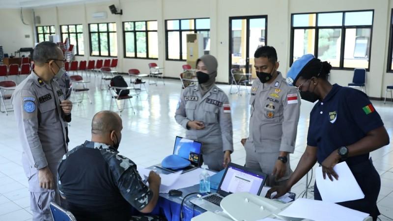 Pulau Tegal Mas Lampung Jadi Tempat Penyematan Baret Pasukan Perdamaian PBB