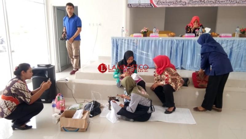 Puluhan Pelaku Usaha di Palas Ikuti Pembinaan UMKM