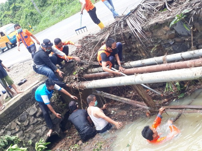 Puluhan Rumah di Kotabumi Selatan Tergenang Banjir