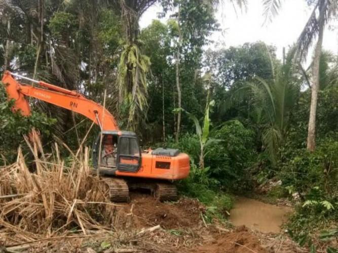 PUPR Normalisasi Sungai di Pesawaran demi Cegah Banjir