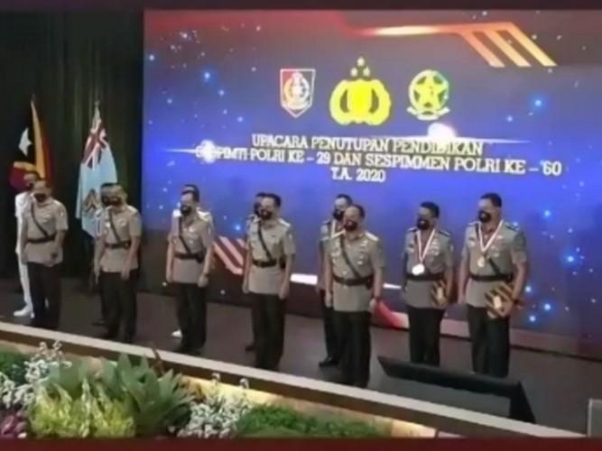 Putra Lampung Raih Terbaik Umum Lulusan Sespimti