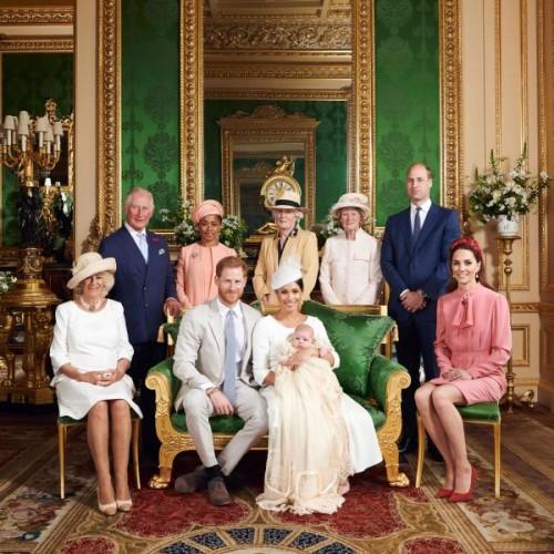 Putra Pangeran Harry Dibaptis