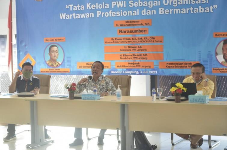 PWI Harus Akuntabel dan Transparan