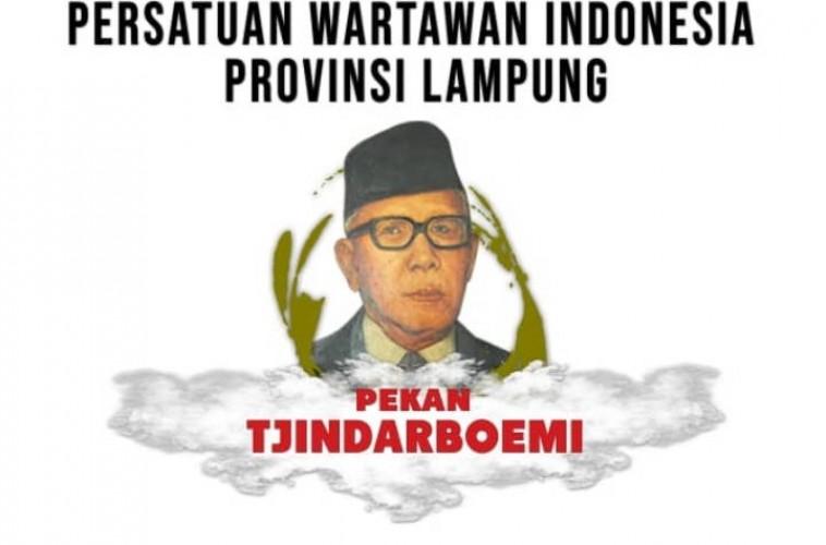 PWI Lampung Gelar Sejumlah Kegiatan dalam Pekan Tjindarboemi