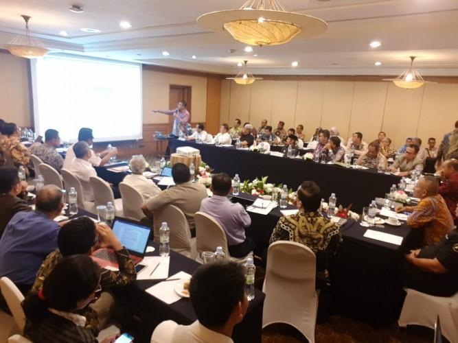 PWI Pusat Helat FGD Forum Investasi Kalsel