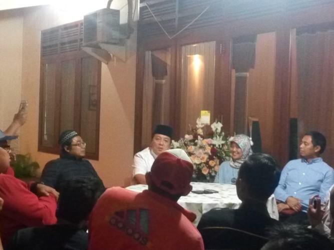 Ramah Tamah dengan Wartawan, Arinal Beberkan Terima Ucapan Selamat dan Nasehat Presiden Jokowi