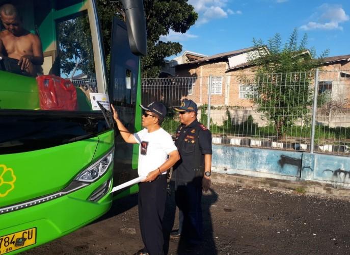Ramp Check, Dishub Lampung Nyatakan 181 Bus Tidak Layak Jalan