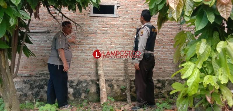 Rampok Bersenpi Gasak Harta Pengusaha Tempe di Sidomulyo