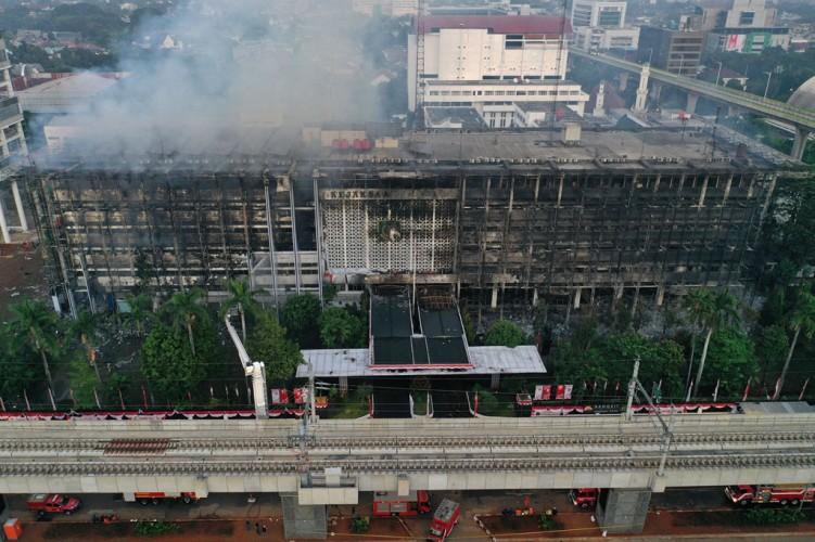 Rangkuman Peristiwa Kebakaran Gedung Kejaksaan Agung