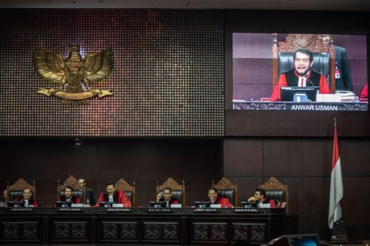 Rapat Musyawarah Hakim MK Soal Perkara Pilpres Sudah Selesai