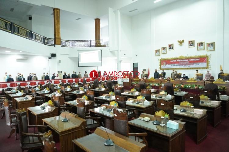 Rapat Paripurna Hari Jadi Lampung Cuma Dihadiri 7 Anggota DPRD Tubaba
