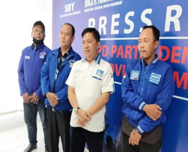 Rapat Pleno DPC Partai Demokrat Lamtim Usulkan Duet Yusran-Yandri Nazir ke DPD