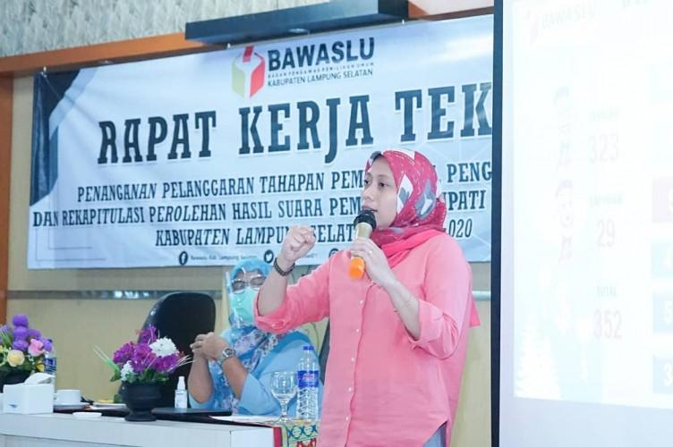 Ratusan Dugaan Pelanggaran Pilkada 2020 Terjadi di Lampung