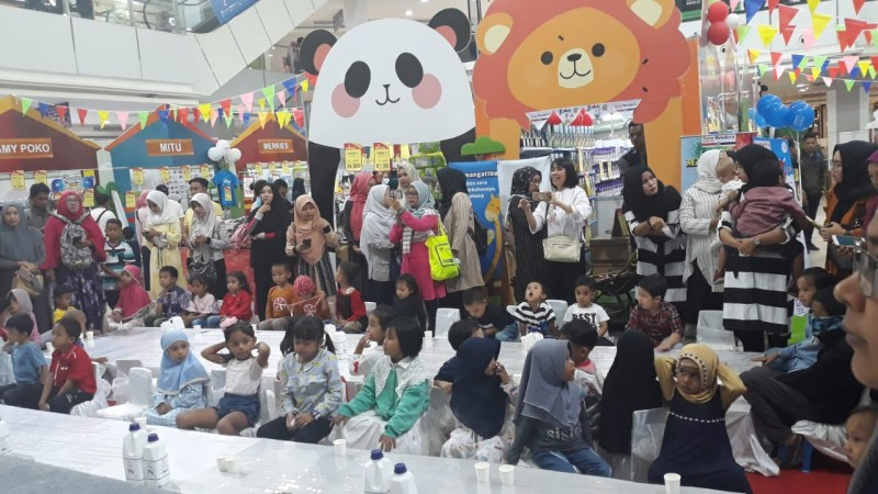 Ratusan Ibu dan Anak Ramaikan Mom and Baby Fair Chandra