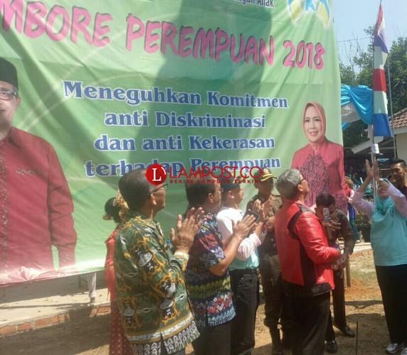 Ratusan Perempuan Lamteng Ikuti Jambore Pertama