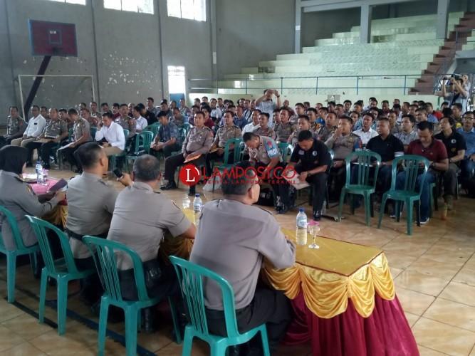 Ratusan Personel Polres Lampung Utara Jalani Tes Psikologi
