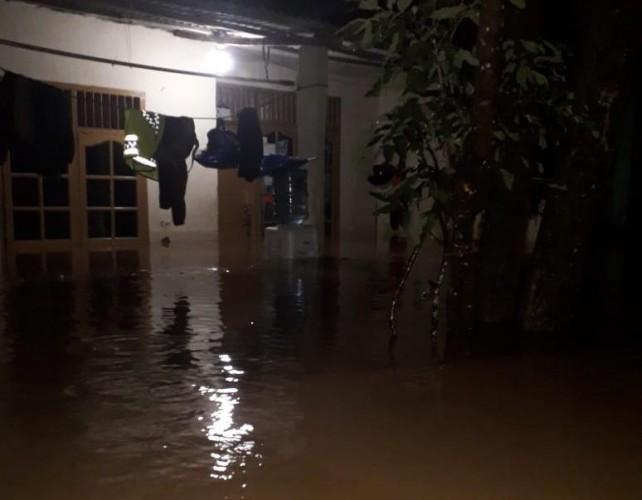 Ratusan Rumah di Kedamaian Terendam Banjir