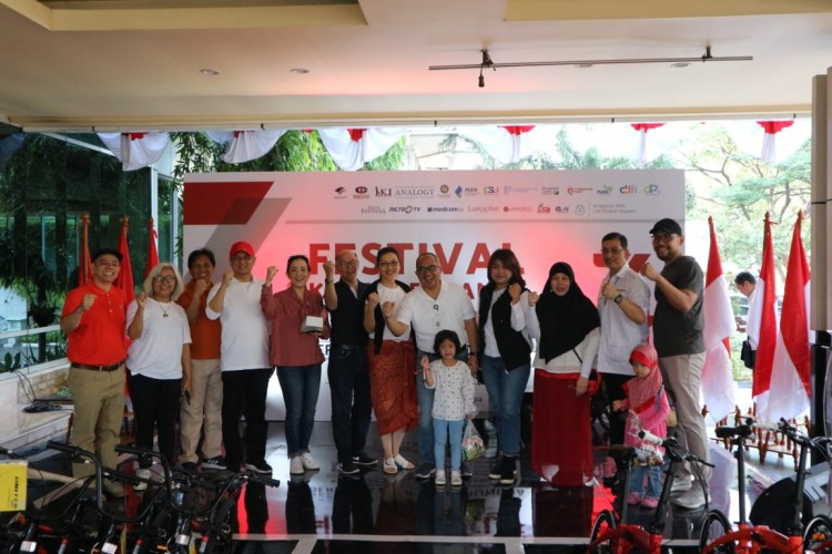 Rayakan HUT RI, Media Group Gelar Festival Kemerdekaan