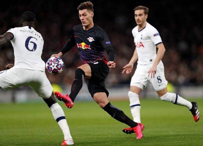 RB Leipzig Permalukan Tottenham di London