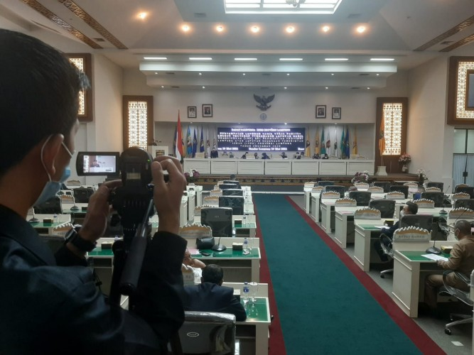Realisasi PAD Lampung Capai 95,95 Persen