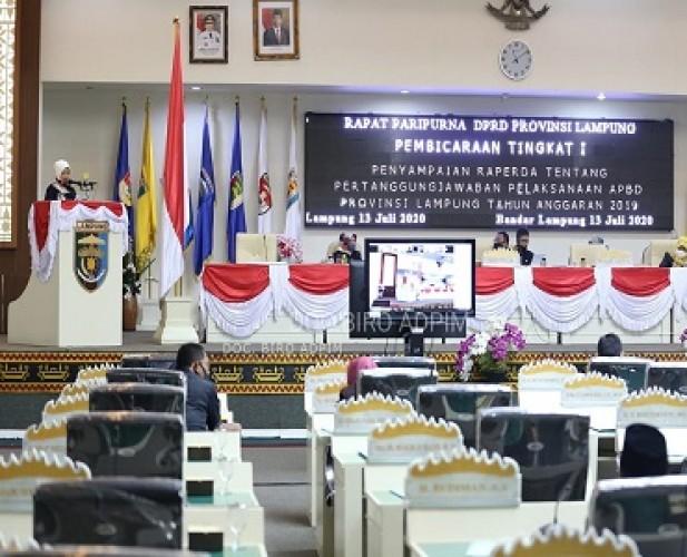 Realisasi Pendapatan APBD Lampung 2019 Capai 98,58 Persen