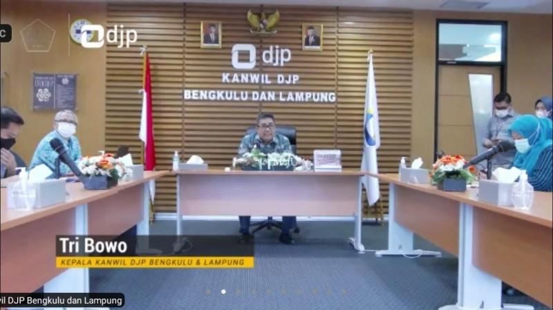 Realisasi Penerimaan Pajak Bengkulu - Lampung Capai Rp6,2 Triliun
